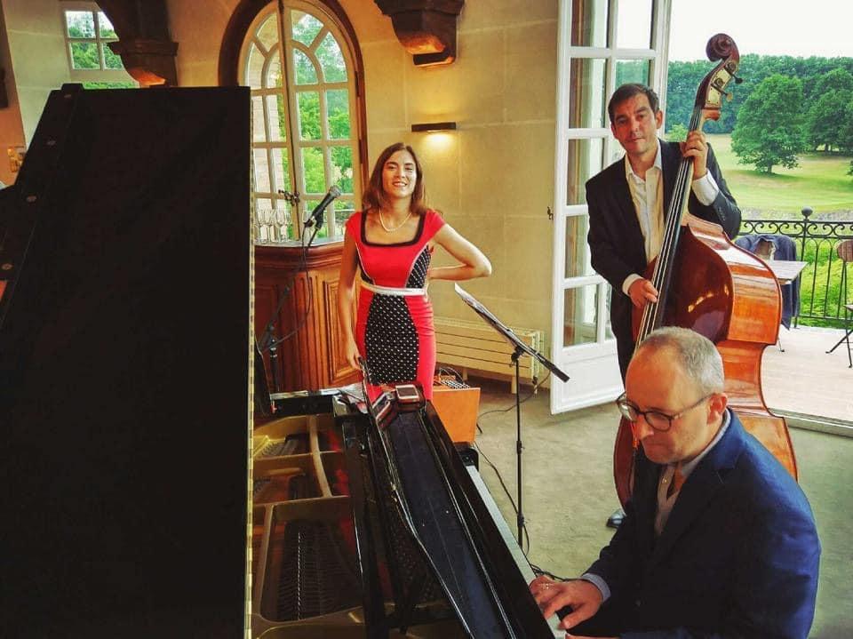Trio jazz pour évènement privé All that Jazz